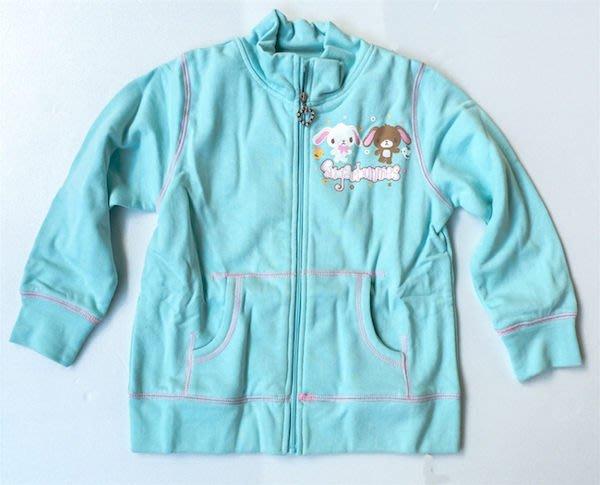 現貨出清特價👍日本進口焦糖兔長袖外套100%綿(110公分)【玩之內】203255 三麗鷗正品
