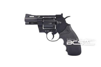 【BCS武器空間】KWC 2.5吋左輪手槍 KC66 CO2直壓槍 M357左輪槍-KWCKC66