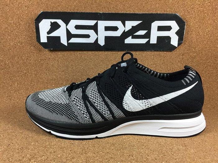【Asper】Nike Flyknit Trainer 黑白 編織 男鞋 AH8396-005