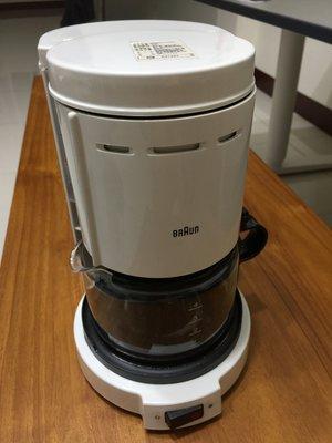 德國 百靈  咖啡壺  BRAUN 咖啡機 白色  4人 0.4L (KF-12 KF12)