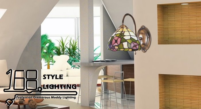 【168 Lighting】古典質感《第凡內壁燈》GI 71463-9