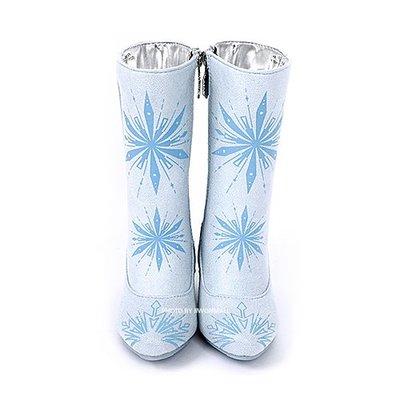 ♀高麗妹♀韓國 Disney FROZEN II 冰雪奇緣2 雨靴.靴子.雨鞋.藍色系(預購)