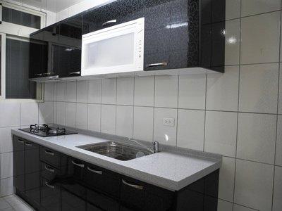 卉誠廚具流理台LG人造石檯面230CM含3機