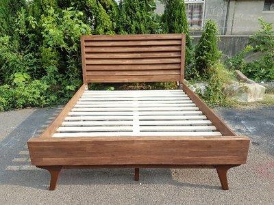彰化二手貨中心(原線東路二手貨)-- 全新實木設計5*6.2組合床  5呎組合床(代號G/D)