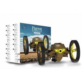 【翼世界】Parrot minidrones Jumping Sumo跳躍相撲(棕色)雙電池大容量