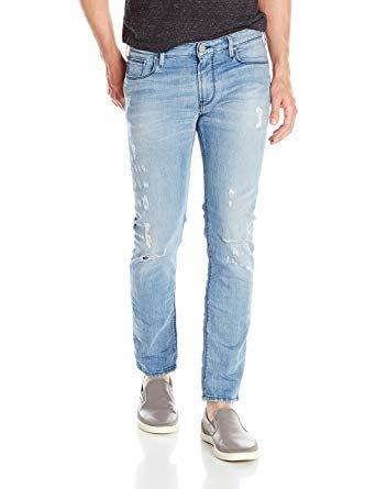 【EZ兔購】~正品美國Armani Jeans 亞曼尼 AJ 修身 牛仔褲 ~現貨30腰 還有