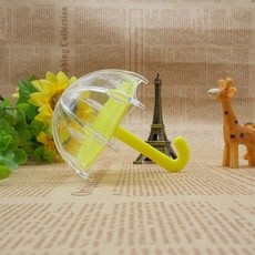 E187--可愛小雨傘,婚禮小物//小禮物盒10元批發8元