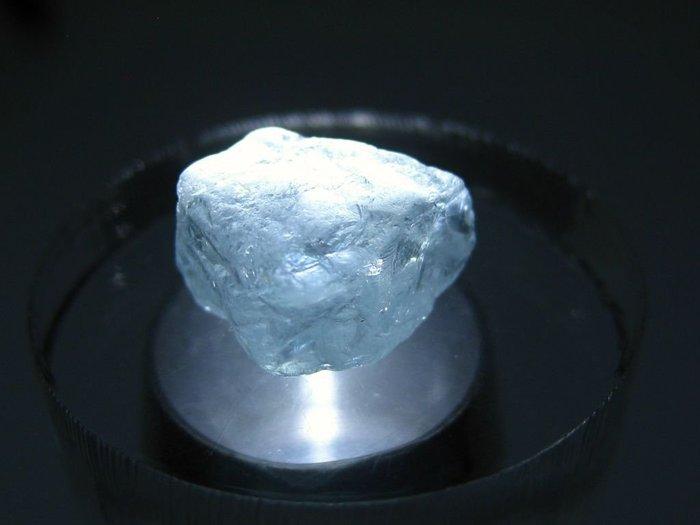 拓帕石 Topaz 天然無燒無處理 自然藍 原礦 標本 礦石 31【Texture & Nobleness 低調與奢華】