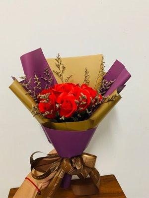 情人節香皂玫瑰花束