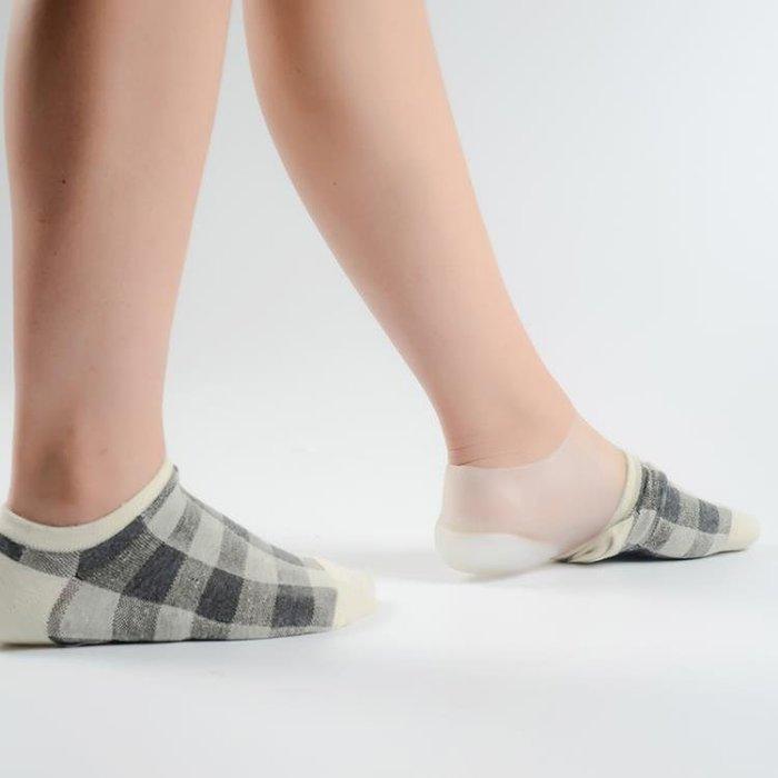 鞋墊襪內隱形內增高休閒面試出口日韓硅膠仿生後跟體檢男女式增高鞋墊