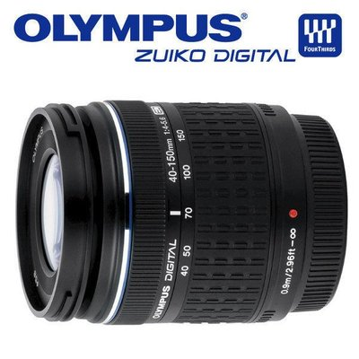 【eWhat億華】Olympus ZUIKO ED 40-150mm F4-5.6 公司貨 裸裝 4/3用 黑色 出清特價中 【4】