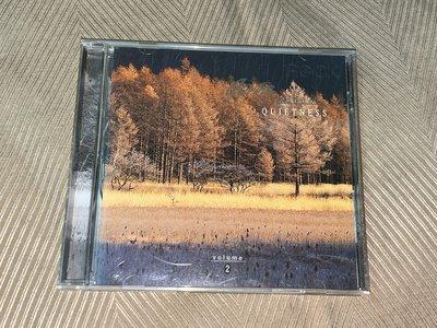 【李歐的音樂芸】幾乎全新Fantasy唱片1995年JAZZ Moods 2 QUIETNESS CD