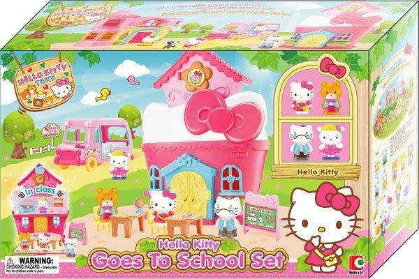 【W先生】Hello Kitty 凱蒂貓 凱蒂貓 上學去 女孩 家家酒 玩具 扮家家酒 正版 三麗鷗