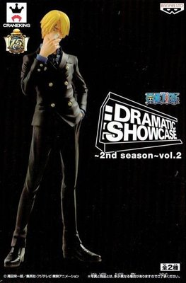 日本正版景品海賊王 航海王 DRAMATIC SHOWCASE 2nd season vol.2 香吉士 公仔 日本代購