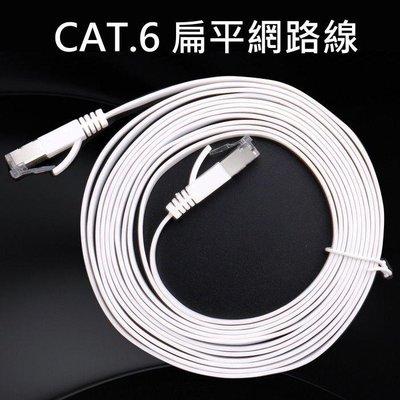 CAT.6 扁平網路線5M 扁形超薄CAT6極速網路線1000MB高速寬頻用【DB392F】☆久林批發☆