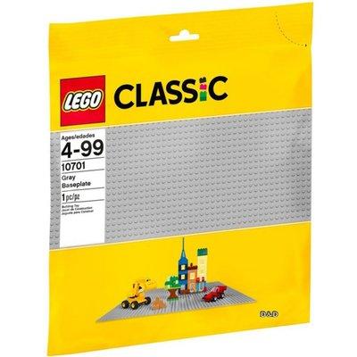 [現貨 公司貨] 10701 LEGO Classic 樂高經典 灰色底板 (38cmX38cm)