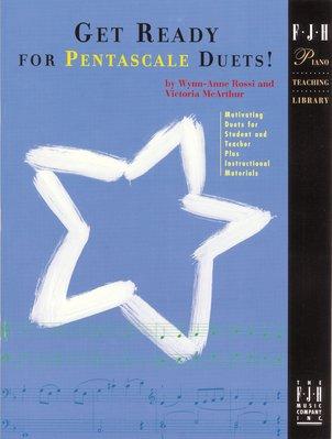 【599免運費】Get Ready for Pentascale Duets!【FJH1280】準備好為五聲音階二重奏!