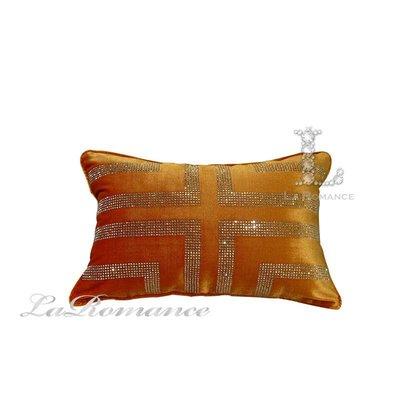 【芮洛蔓 La Romance】奢華系列真絲絨水鑽腰枕 - 琥珀金 / 床枕 / 靠枕