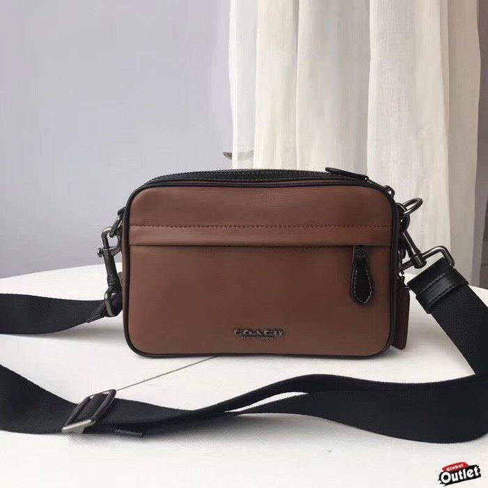 【全球購.COM】COACH 寇馳39946 新款男士斜背包 相機包 男生側背包 單肩包 美國代購