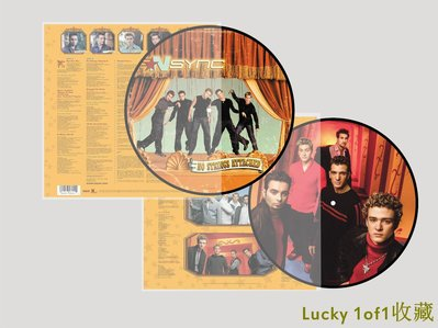 Lucky 1of1收藏NSYNC No Strings Attached 20周年 限量 畫膠 LP 黑膠唱片