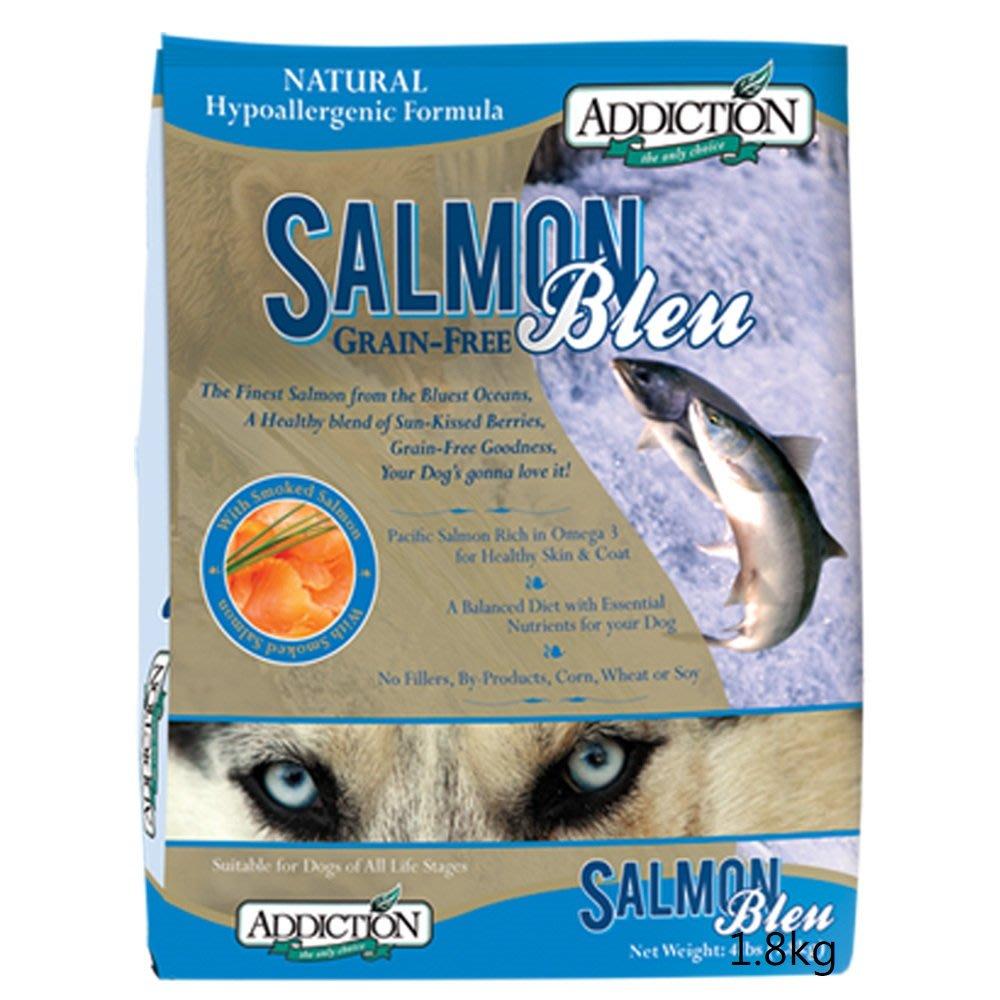 【優惠】紐西蘭ADDICTION自然癮食ADD無穀藍鮭魚寵食狗飼料-1.8kg
