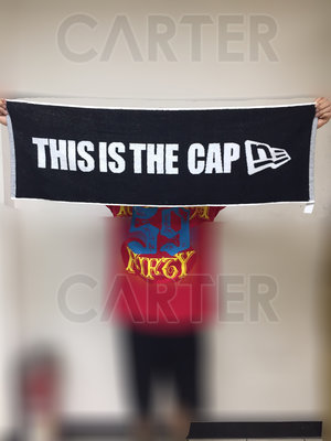 New Era Taiwan This is the Cap Towel NE台灣純棉 100%毛巾