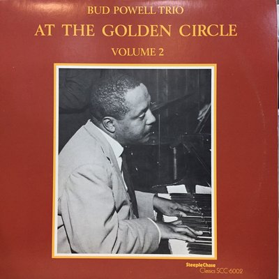 §小宋唱片§ 日版/Bud Powell Trio-At The Golden Circle Vol.2/二手爵士黑膠