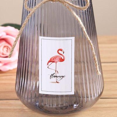 歐式花瓶創意大號玻璃花瓶透明彩色水培富貴竹花瓶客廳玫瑰百合插花器擺件
