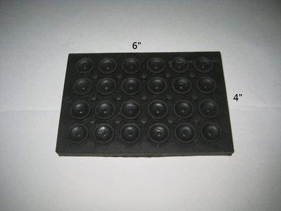 """【 泉五金 】(附發票)加壓機4""""x6""""防震墊片。隔音墊。抽水機用。搭配馬達購買免運"""