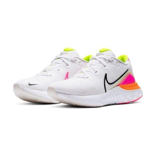 GOSPEL【NIKE RENEW RUN 】白粉 慢跑鞋 女款 CK6360-005