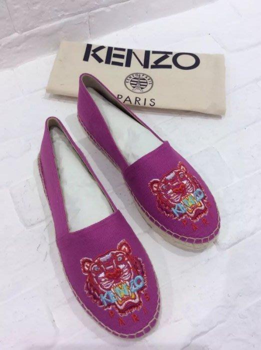 Kenzo 虎頭鉛筆鞋 桃紅 sz 36 / 37