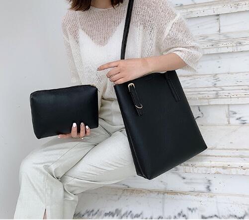 FINDSENSE X 韓國 女士 時尚大容量 手提包 托特包 多功能斜挎包 側背包 單肩包