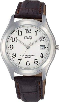 日本正版 CITIZEN 星辰 Q&Q W478-304 手錶 男錶 皮革錶帶 日本代購