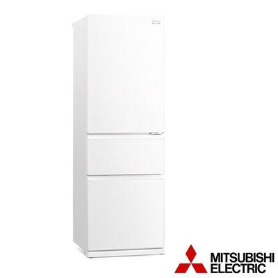 Mitsubishi 三菱電機《MR-CGX37EN-GWH-C》365公升1級 全室抗菌負離子 智能變頻 三門電冰箱