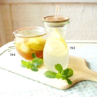 ☘小宅私物 ☘德國 WECK 763 玻璃密封罐 Juice Jar 290ml 單箱6入 現貨 附發票