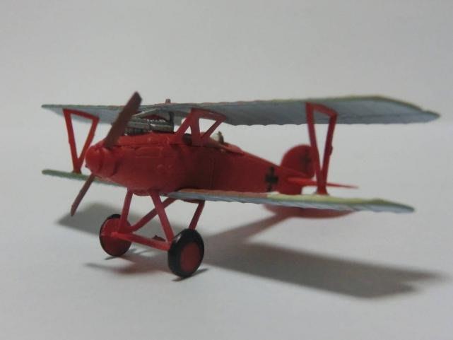 Ⅾ-20櫃 : 1/144 F-TOYS WORK SHOP 雙翼飛機 納粹德國空軍 利希霍芬中尉機 天富