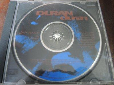 ◎MWM◎【二手 CD】_Duran Duran - Serious 杜蘭杜蘭合唱團 (美版,無正面封面)