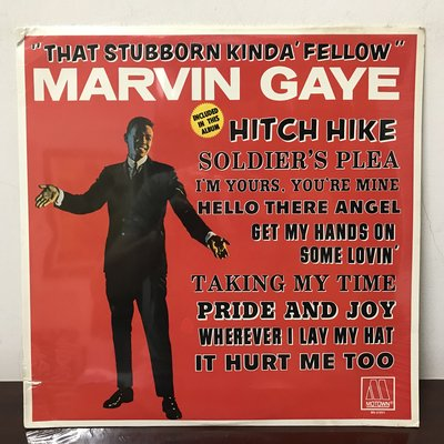 晨雨黑膠【西洋】全新美版/Marvin Gaye – That Stubborn Kinda Fellow