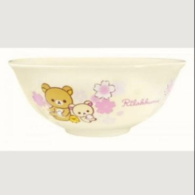 7-11集點拉拉熊大陶瓷碗