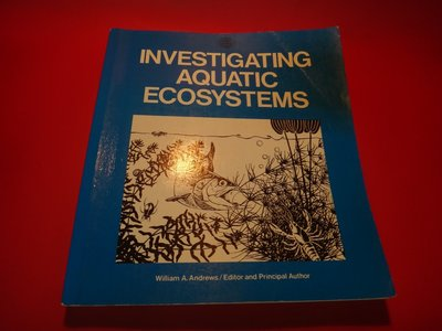 【愛悅二手書坊 03-57】Investigating Aquatic Ecosystems (劃記)