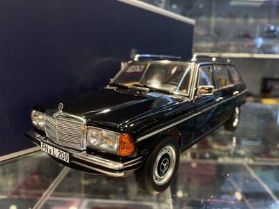 吉華科技@ 1/18 NOREV 183735 Mercedes-Benz 200 T W123 1982