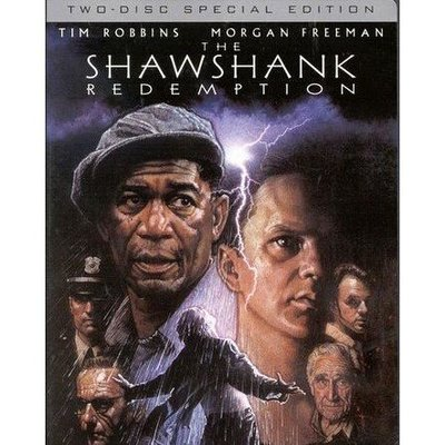 【博鑫音像】電影 刺激1995/肖申克的救贖 DVD 國語/英語 全新盒裝 收藏版@WC
