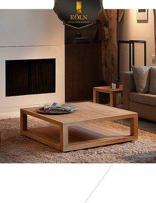 【爵品訂製家具】MF-T1-19 白橡實木貼皮茶几、方几、圓几。歡迎設計師、建設公司洽詢合作