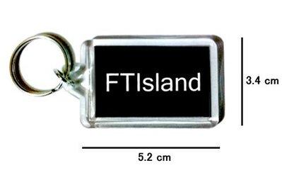 〈可來圖訂做-鑰匙圈〉FTIsland 壓克力雙面鑰匙圈 (可當吊飾)