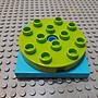 不挑色【點點小豆】lego 樂高積木 DUPLO 得寶 4x4 大型 旋轉 轉盤 一個 如圖!