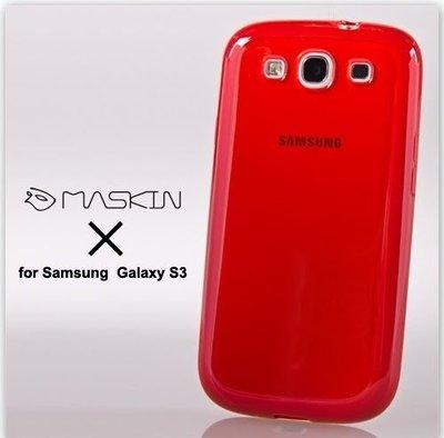 日光通訊@MASKIN原廠 Samsung Galaxy S3 i9300 亮采雙料手機殼 透明水晶保護殼 全包覆背蓋硬殼