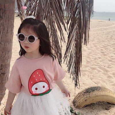 【溜。溜。選物】童裝 棉質印花短袖T恤