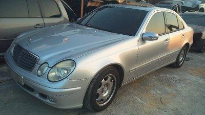 BENZ 賓士 W211/E240 中古零件車/流當車拆賣