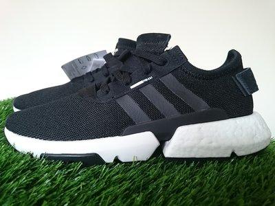 【100%原廠現貨】愛迪達Adidas POD-S 3.1 慢跑鞋 Boost底 B37366 黑白 男女 Yeezy EQT灰白9317 Tubular Y3