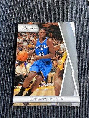 Jeff Green 10/11 Prestige #82 Base